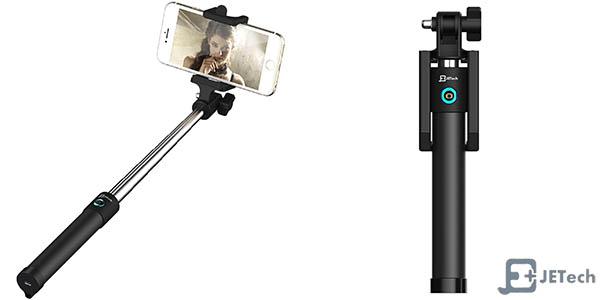 Palo Selfie JETech con disparador bluetooth
