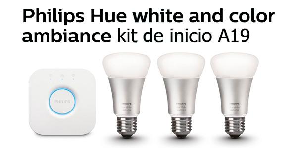 philips hue white and color kit de inicio