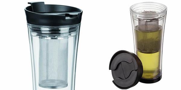 practico vaso te portatil filtro para infusiones barato