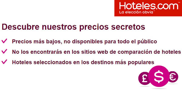 precios secretos habitaciones hoteles.com