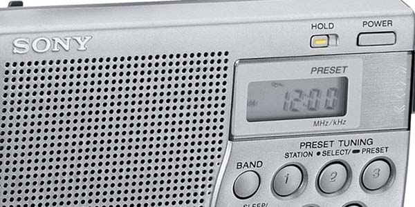 Radio Sony ICF-M260 barata