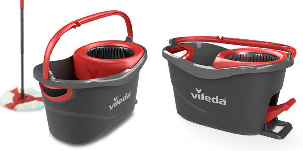 set fregona cubo vileda turbo easy wring clean amazon