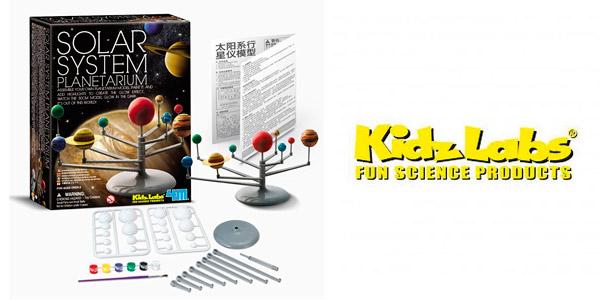 Modelo del Sistema Solar a escala para niños