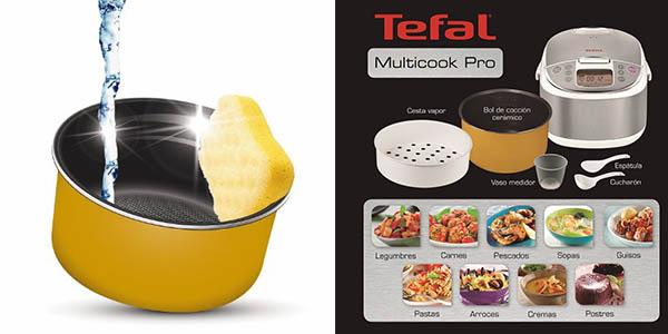 tefal multicook pro procesador alimentos coccion lenta