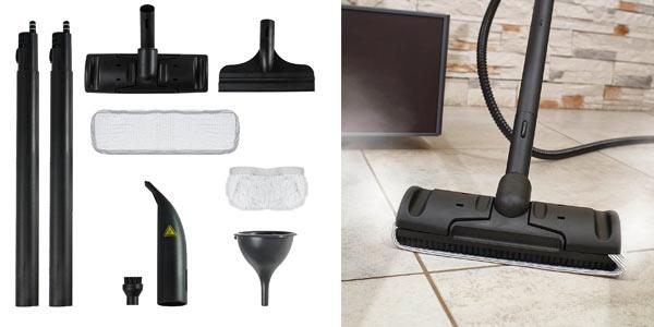 Limpiadora a vapor con accesorios Polti
