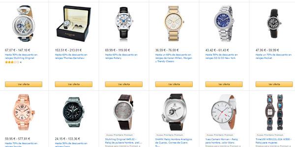 ver ofertas relojes amazon espana