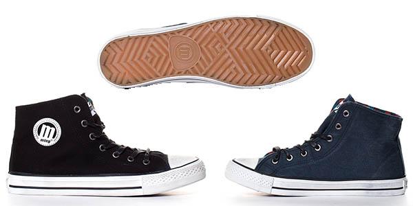 zapatillas bota lona mustang unisex casual