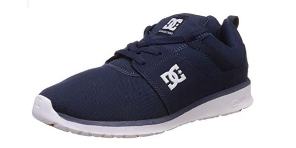 Zapatillas DC Shoes Heathrow para hombre en azul marino