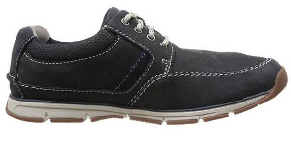 zapatos cordones comodos clarks beachmont edge
