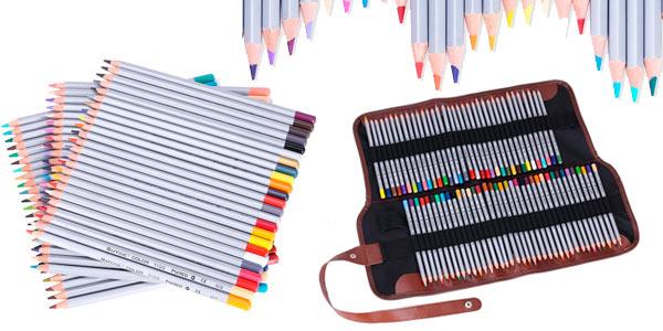 72 lápices de colores con funda de gran calidad baratos