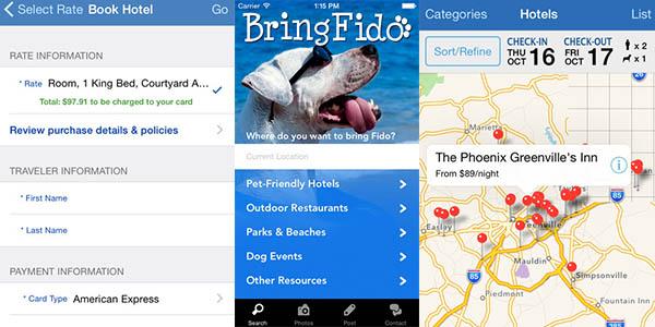 Bringfido App para viajar con mascotas