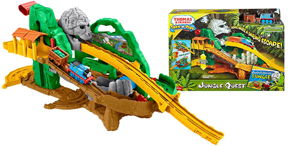 Circuito de la selva Thomas and Friends de Fisher-Price
