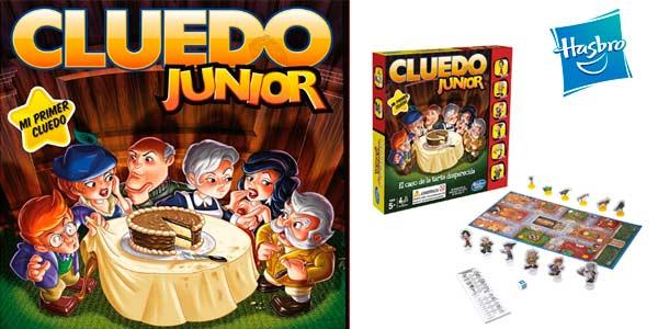 Cluedo infantil Junior de hasbro barato El Misterio de la Tarta Desaparecida