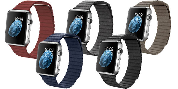 Correa Apple Watch en varios colores