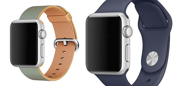 Correas Apple Watch Venter Soft Silicone y Woven Nylon
