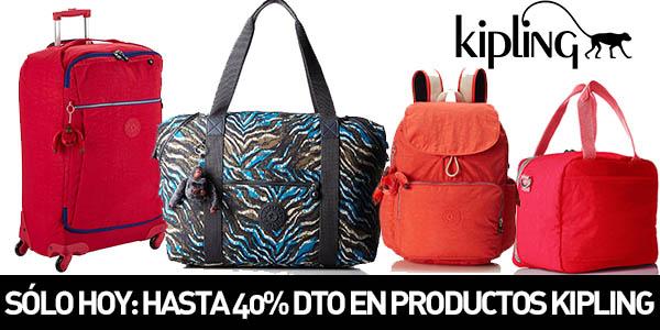 Productos Kipling con hasta -40% de descuento