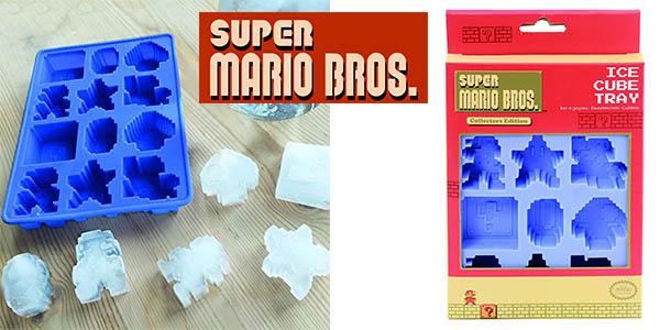 divertida bandeja cubitos hielo super mario bros barata