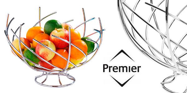 Frutero barato Premier Housewares de diseño moderno cromado