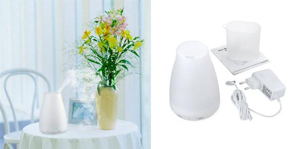 Aromatizador de vapor humidificador barato con luz LED