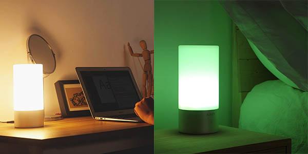 Lámpara de mesa LED AUKEY barata