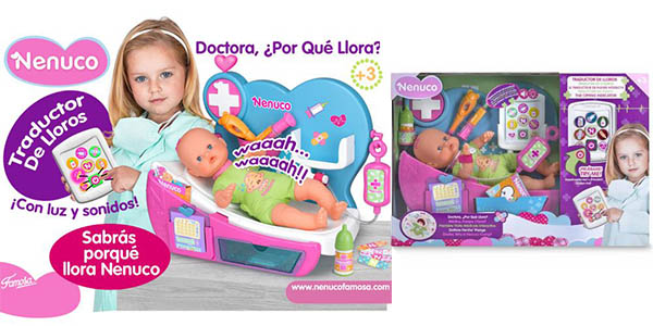 muñeco nenuco doctor detector llanto
