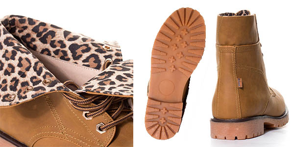mustang springboots mujer