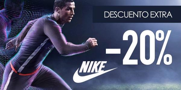 Cupón descuento Nike 20% octubre 2016