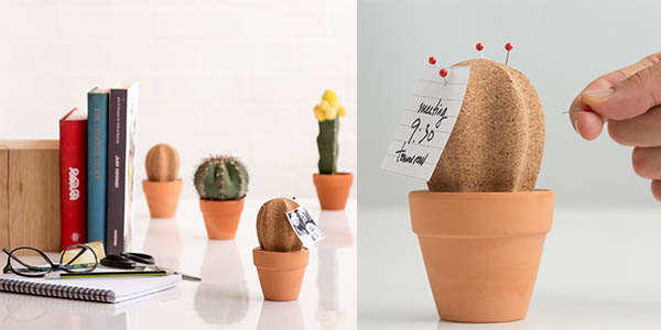 original practico cactus guardar material oficina