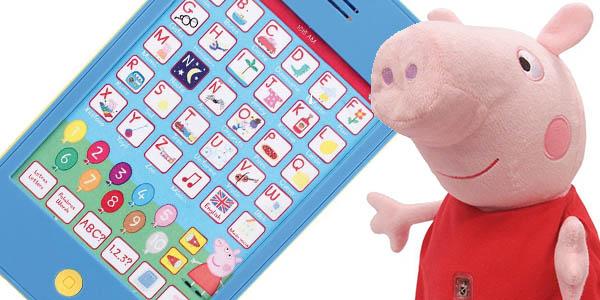 peppa pig interactivo tablet didactica precio brutal