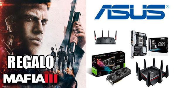 Regalo de Mafia 3 para PC con la compra de placas base, tarjetas y routers ASUS en Amazon