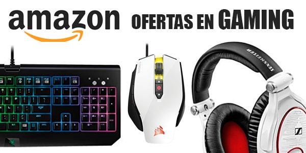 Promoción de artículos de gaming con descuento en Amazon