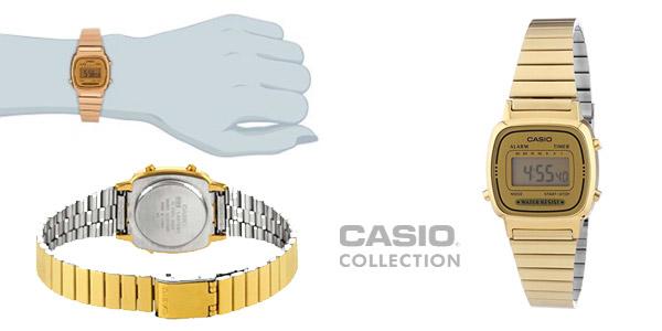 Reloj Casio barato retro para mujer modelo La670Wega-9EF