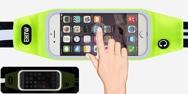 Riñonera running para smartphone barata
