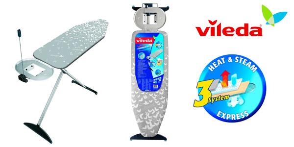 Tabla de planchar Vileda Premium Plus estable y robusta
