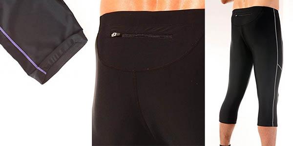 ultrasport pantalones running pirata calidad precio brutal