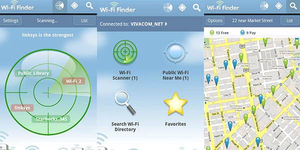WiFi Finder App buscador de Internet sin conexión