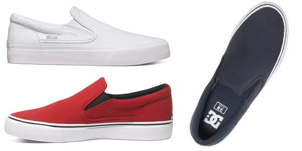 zapatillas casual dc shoes trase precio brutal