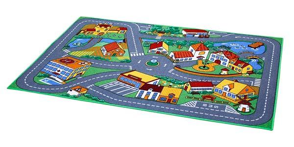 alfombra infantil de calidad con circuito a buen precio