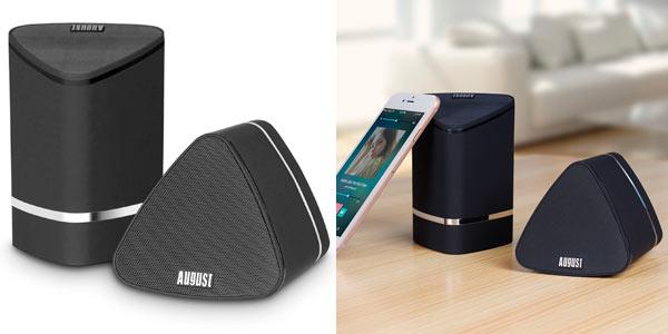 Altavoces Bluetooth 100% inalambricos AUgust MS625 con sonido estéreo