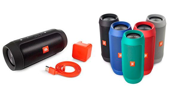Altavoz portátil Bluetooth JBL Charge 2+ en varios colores rebajado