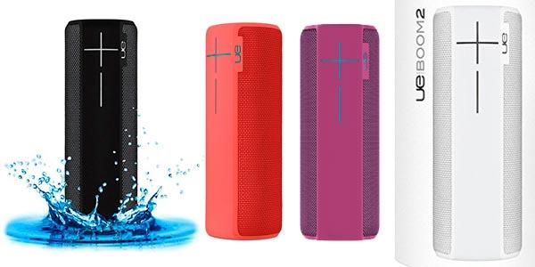 UE BOOM 2 Altavoz Portátil Bluetooth impermeable a buen precio por el Black Friday de Amazon