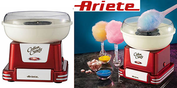 ariete party time 2971 maquina caramelos nubes algodon