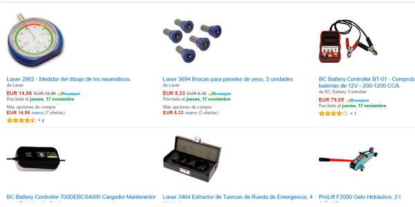 ARtículos para coche y moto a buen precio en Amazon
