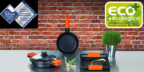 bra efficient orange set 3 sartenes antiadherentes precio brutal
