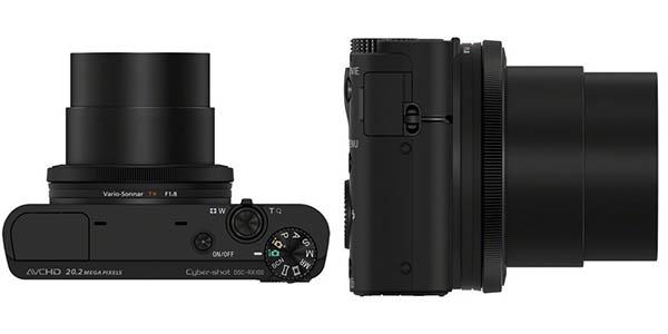 Sony DSC-RX100 de 20.2 MP
