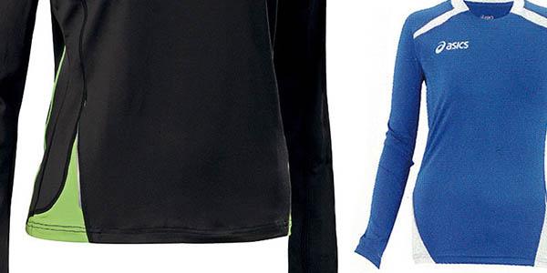 camiseta elastica transpirable deportes asics marion