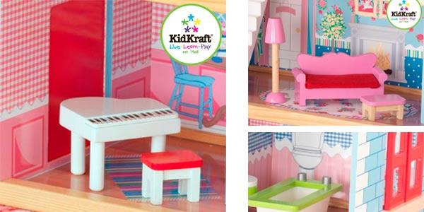 Casa de muñecas grande KidKraft Chelsea con descuento