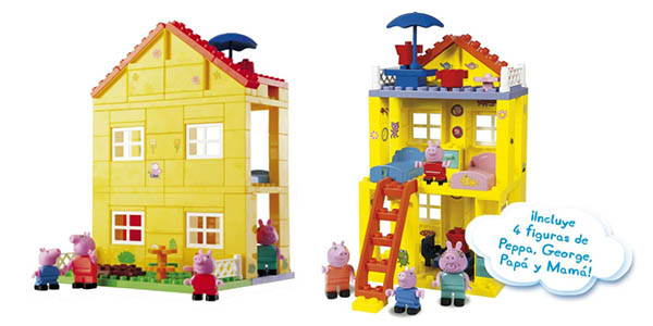 nueva casita Peppa Pig barata