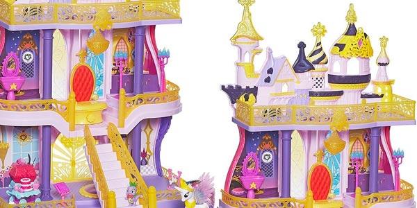 Castillo de CAnterlot de My Little Pony Original de Hasbro rebajado en Amazon