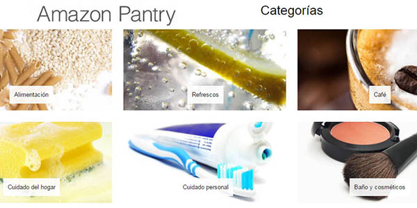 categorias supermercado amazon pantry
